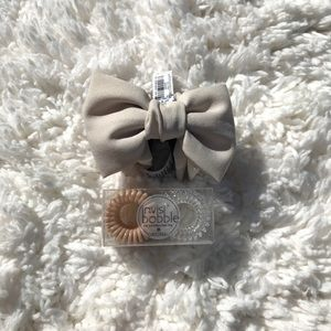Bow Hair Clip & Hair Bands